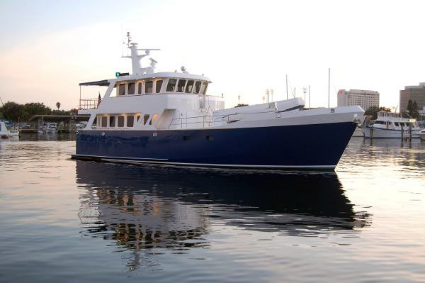New Real Ships 24 Meter Expedition Yacht Trawler Boat For Sale