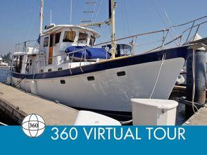 Used Kadey-Krogen 54 Pilothouse Trawler Cruiser Boat For Sale
