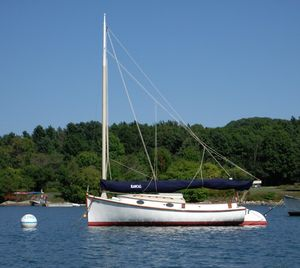 Used Herreshoff America Catboat Antique and Classic Boat For Sale