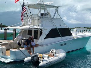 Used Egg Harbor 48 Flybridge Convertible Fishing Boat For Sale