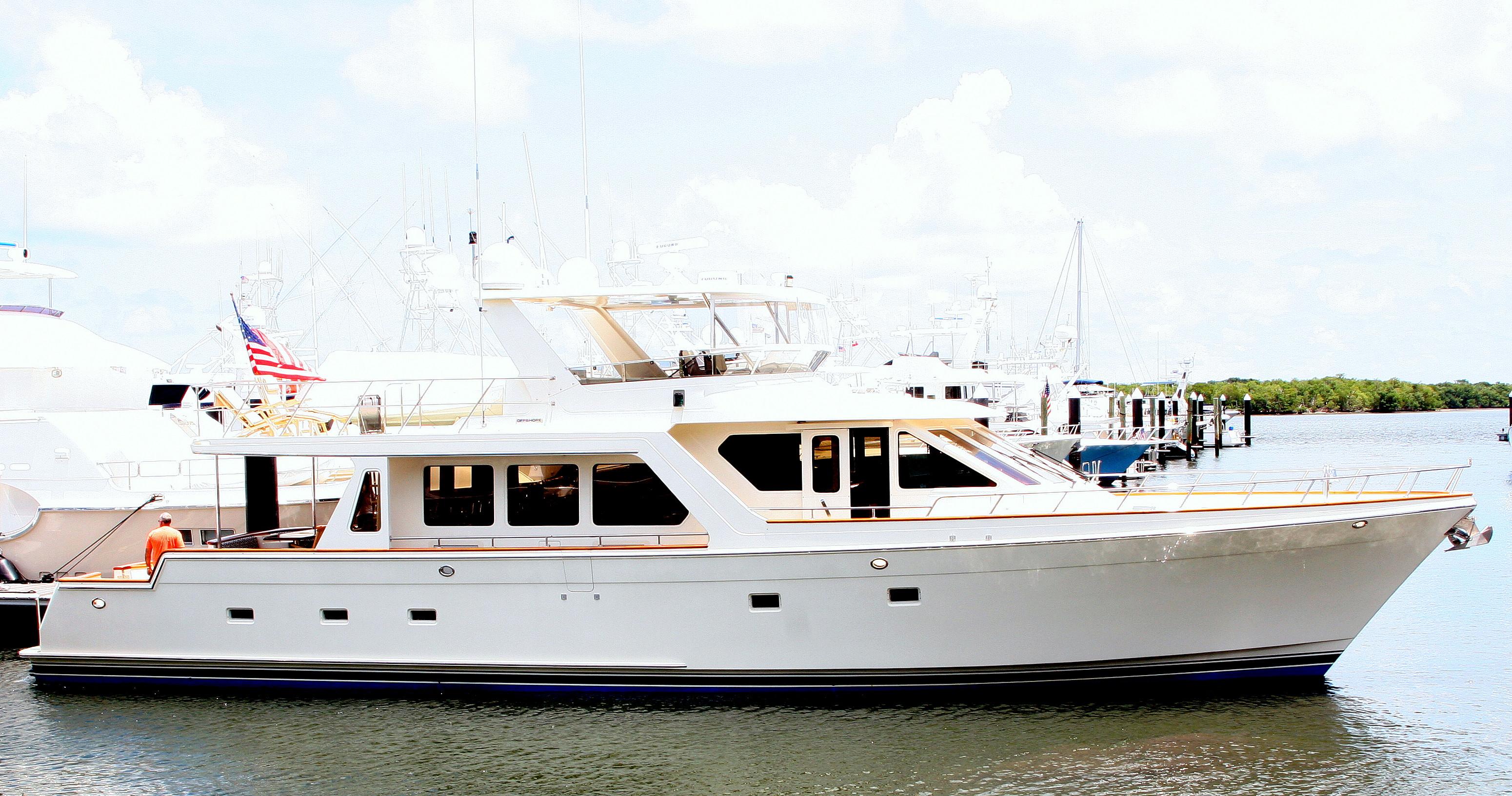Used Offshore 72 Pilothouse Cockpit M/y Pilothouse Boat For Sale