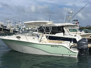 Used Sea Fox 256 Voyager Center Console Fishing Boat For Sale