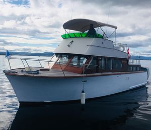 Used Monk Aft Cabin - Sedan Bridge Cruiser Boat For Sale