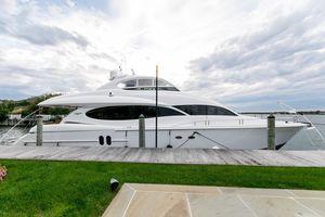Used Lazzara 80 Open Bridge Motor Yacht For Sale