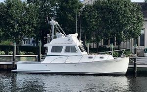 Used Portsmouth 30 Downeast Flybridge Downeast Fishing Boat For Sale