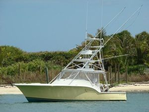 Used Out Island 38 Express Fisherman Cruiser Boat For Sale