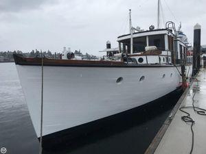 Used Jensen Custom 62 Trawler Boat For Sale