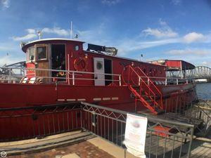 Used Custom 87 Retired Fireboat Passenger Boat For Sale