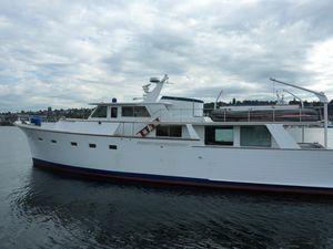 Used Vic Franck 65 Pilothouse VIC Franck Motor Yacht For Sale