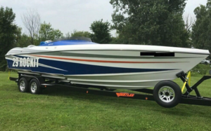 Used Hustler 29 Rockit MC Open Bow High Performance Boat For Sale