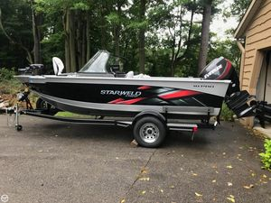 Used Starweld (by Starcraft) 18 Pro Aluminum Fishing Boat For Sale