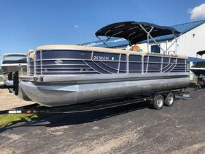 Used South Bay 925CRTT I/O925CRTT I/O Pontoon Boat For Sale