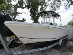 Used Sailfish 266 CC Saltwater Fishing Boat For Sale