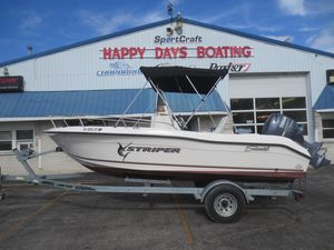 Used Striper 1851 CC1851 CC Center Console Fishing Boat For Sale