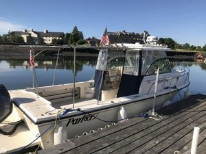 Used Parker Marine 2510XL Walkaround Fishing Boat For Sale