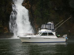 Used Uniflite Convertible Fishing Boat For Sale
