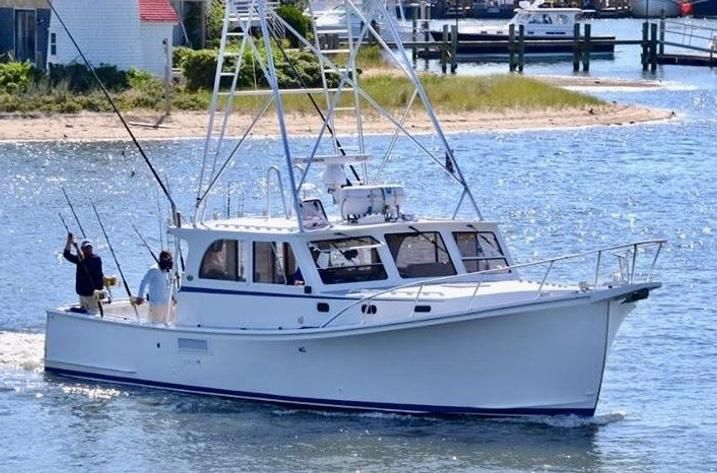 2000 Used Wesmac Tuna Fisherman Sports Fishing Boat For Sale