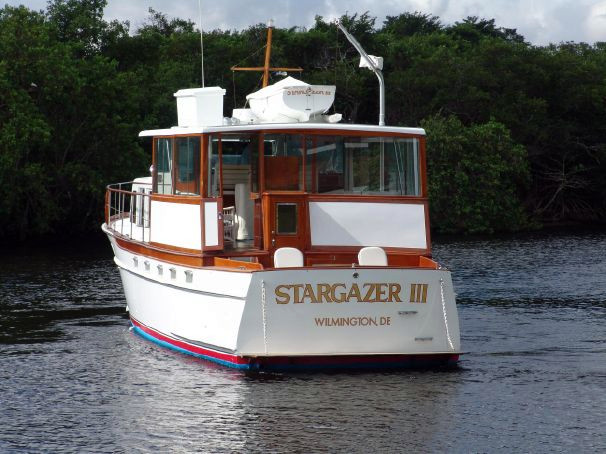 Used Trumpy Cruiser Boat For Sale