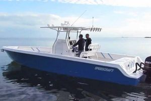 Used Speedcraft 35 Center Console Fishing Boat For Sale