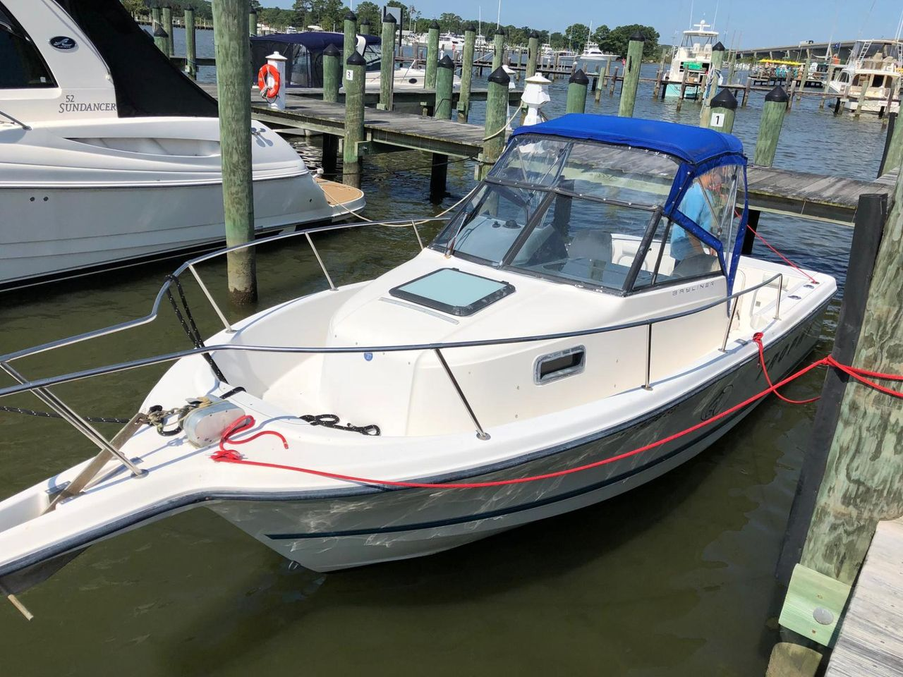 ... Used Bayliner 2352 Trophy Walkaround Boat For Sale