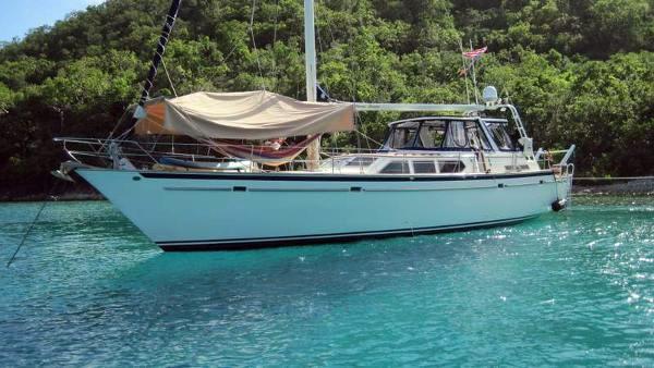 Used Gulfstar 54 Cruiser Sailboat For Sale