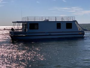 Used Catamaran Cruisers 45 X 12 House Boat For Sale