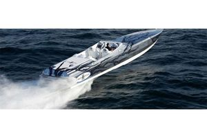 Used Cigarette 50 Marauder High Performance Boat For Sale