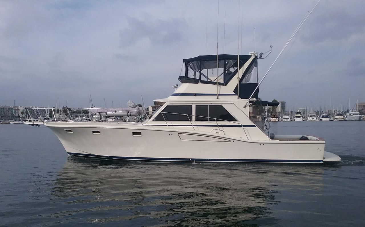 Used Chris-Craft 482 Convertible Fishing Boat For Sale