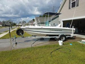 Used Seaswirl Striper 1730 Center Console Fishing Boat For Sale