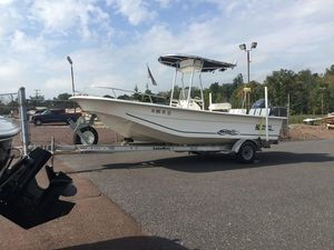 Used Carolina Skiff 218 DLV218 DLV Center Console Fishing Boat For Sale