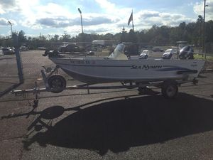 Used Sea Nymph 165sc angler165sc angler Aluminum Fishing Boat For Sale