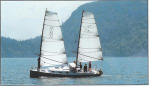 Used Union Presto 30 Sharpie Daysailer Sailboat For Sale