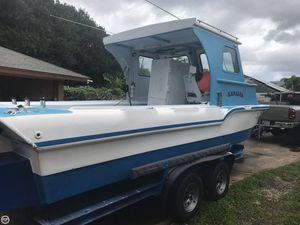 Used Hawaiian 22 Tri-hull Pilothouse Boat For Sale