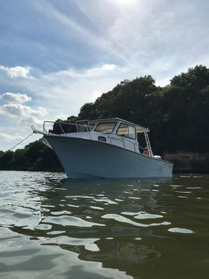 Used May-Craft 2500 Pilot House Cuddy Cabin Boat For Sale