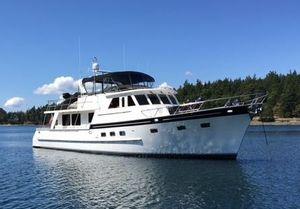 Used Grand Alaskan Raised Pilothouse Motoryacht Motor Yacht For Sale