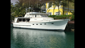 Used Ocean Alexander 50 Pontoon Boat For Sale