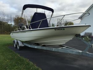 Used Boston Whaler Dauntless 220 Center Console Fishing Boat For Sale
