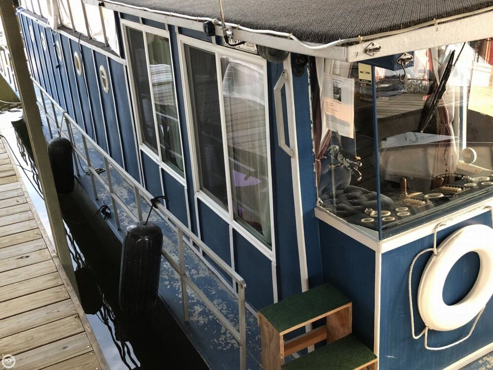 1965 Used Lazydays 50 House Boat For Sale - $50,000
