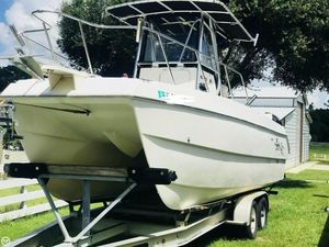 Used Sportcraft SCC 23 Sport Cat Power Catamaran Boat For Sale