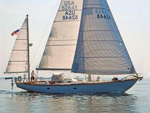Used Hinckley H-48 Yawl Racer and Cruiser Sailboat For Sale
