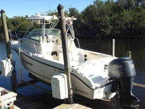 Used Seaswirl 2301 Walkaround Fishing Boat For Sale