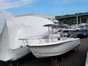 Used Sea Pro 255cc Saltwater Fishing Boat For Sale