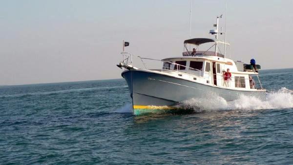 Used Kadey Krogen 49 Flybridge Express Trawler Boat For Sale