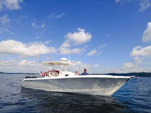 Used Edgewater 320cc Center Console Fishing Boat For Sale