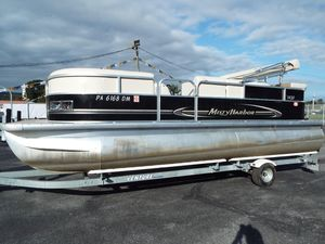 Used Misty Harbor 225CR Adventure225CR Adventure Pontoon Boat For Sale