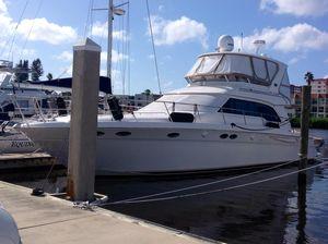 Used Sea Ray 480 Sedan Bridge Convertible Fishing Boat For Sale