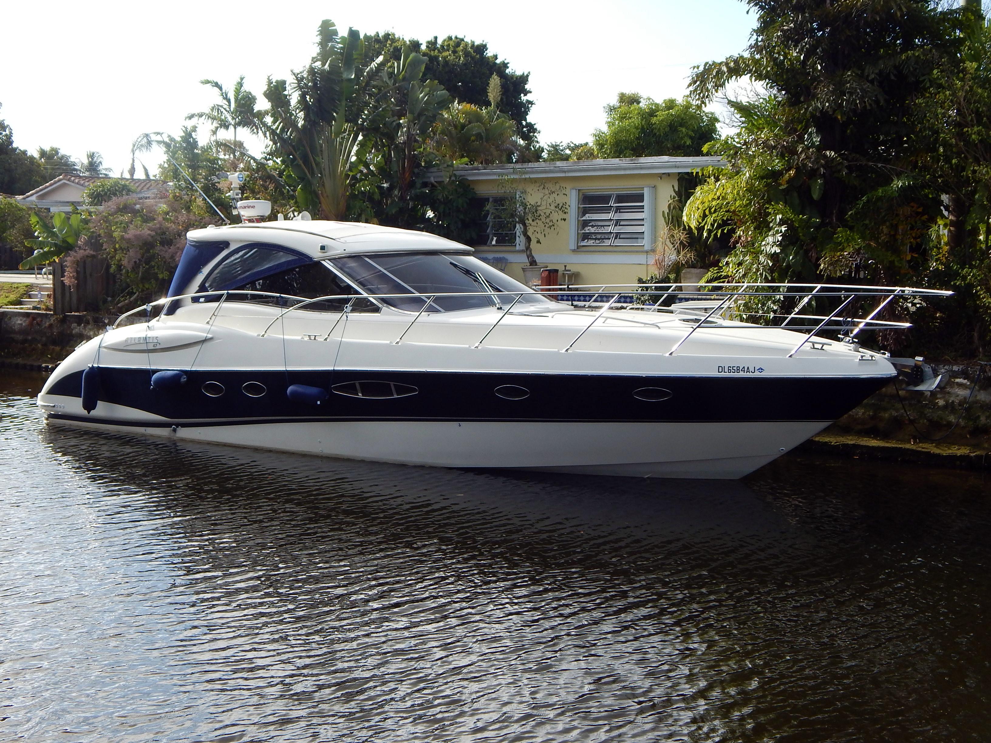 Used Atlantis Yachts 47 Hardtop Sports Cruiser Boat For Sale