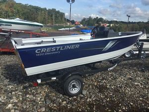 New Crestliner 1450 DISCOVERY T1450 DISCOVERY T Aluminum Fishing Boat For Sale