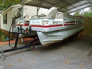 Used Crest 24 III XRS Pontoon Boat For Sale