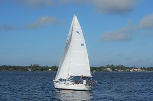 Used Dolphin 24 Sloop Sailboat For Sale